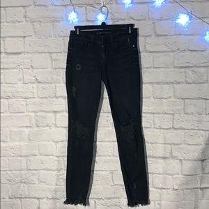 SP Black Label Raw Hem Denim Jeans